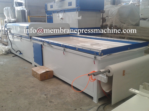 PVC wood Vacuum membrane Press 2480