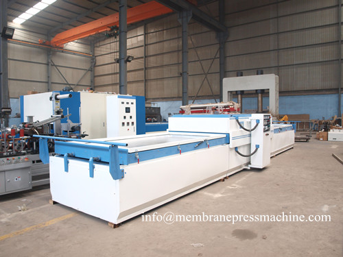 PVC decorative room panels vacuum membrane press machine