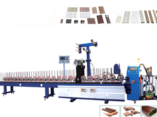 PUR 300 profile wrapping machine