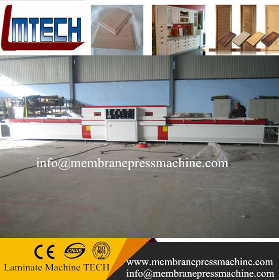 PVC door cabinet vacuum membrane press machine