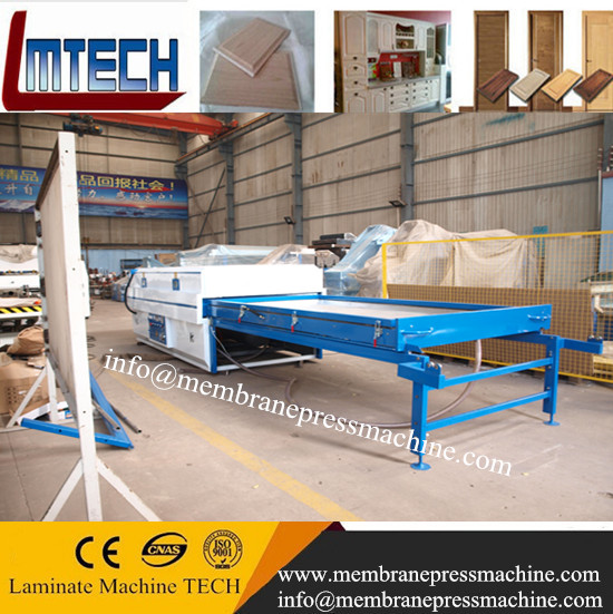 Automatic PVC foil vacuum membrane press machine
