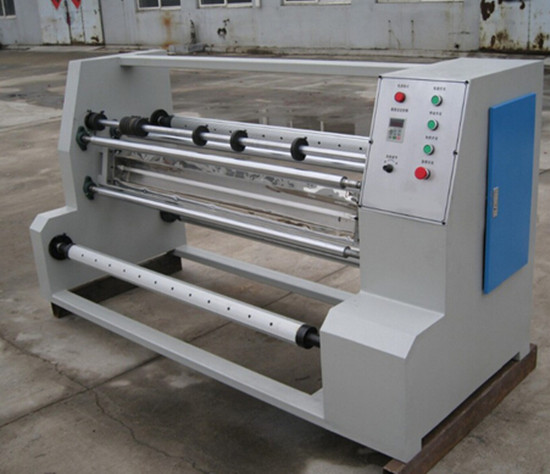 pvc pet film slitting machine