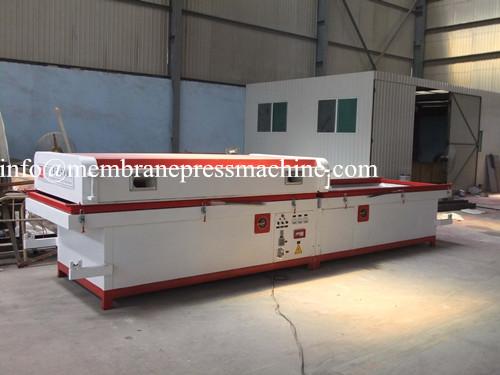 Pvc Door Making Vacuum Membrane Press Machine, View Vacuum
