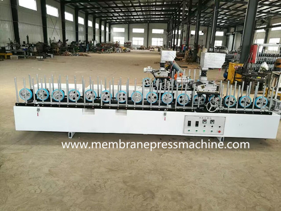 profile wrapping machinery