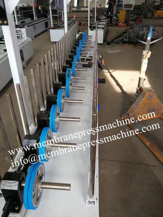Mdf Profile Wrapping Machine